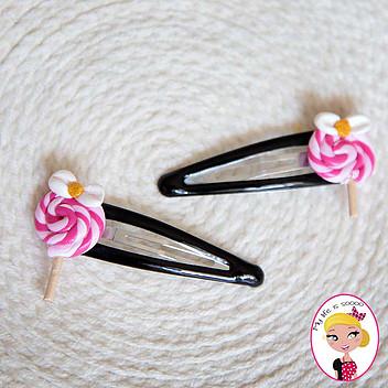 Barrettes Lollipops (valeur 5€)